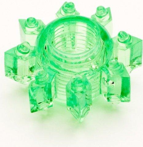 Кольцо гелевое зеленое, фото 2