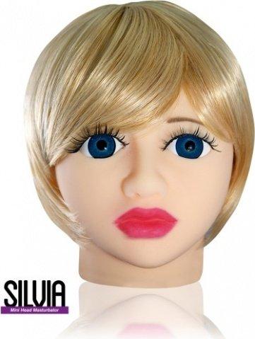 Мастурбатор в форме головы Silvia, фото 2