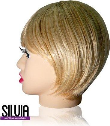 Мастурбатор в форме головы Silvia, фото 3