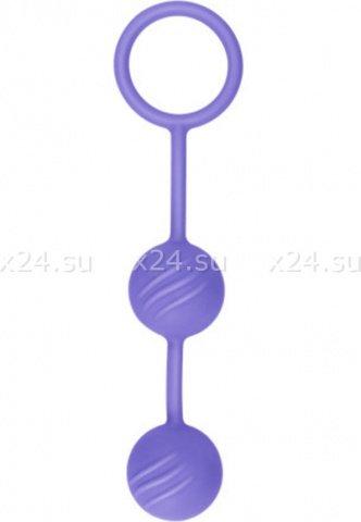Вагинальные шарики фиолетовые, фото 2