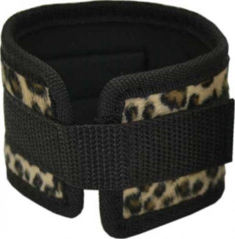 Набор: маска + наручники + наножники, леопардовый,, фото 3