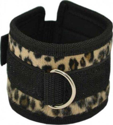 Набор: маска + наручники + наножники, леопардовый,, фото 4