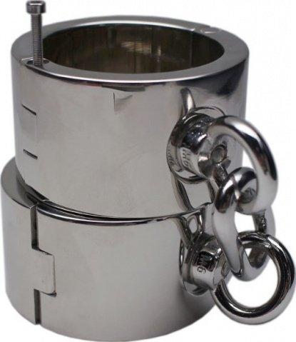 Наручники женские, металлические, диаметр 54 мм, фото 2
