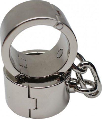 Наручники женские, металлические, диаметр 54 мм, фото 4