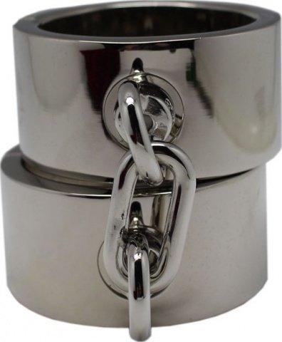 Наручники мужские, металлические, диаметр 64 мм, фото 3
