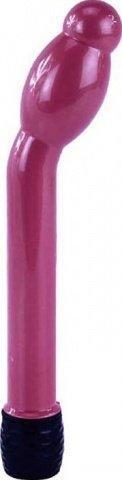Вибратор Boy Friend анально-вагинальный, с утолщением, розовый, 16-25 х158 мм