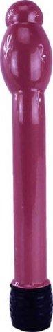 Вибратор Boy Friend анально-вагинальный, с утолщением, розовый, 16-25 х158 мм, фото 2