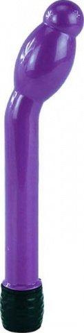 Вибратор Boy Friend анально-вагинальный, с утолщением, фиолетовый, 16-25 х158 мм