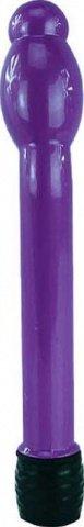 Вибратор Boy Friend анально-вагинальный, с утолщением, фиолетовый, 16-25 х158 мм, фото 3