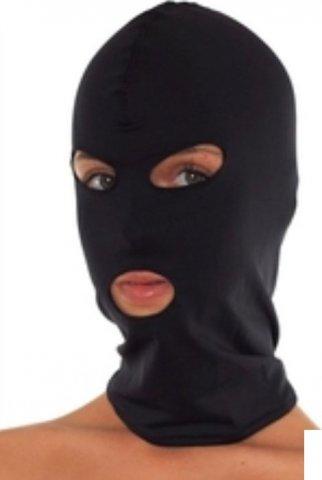 Шлем спандекс, черный,