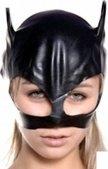 Шлем маска женская, черная - Секс шоп Мир Оргазма