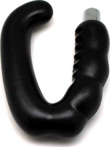 Массажер простаты, черный, 27 х150 мм, фото 2