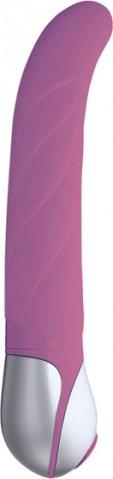Вибратор силикон 17,5 см многопрогр. розовый