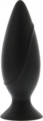 Анальная пробка mojo большая черная, фото 3