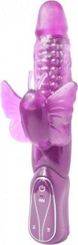 Вибратор многоскоростной premium range dream7 butterfly 13 см, фото 3
