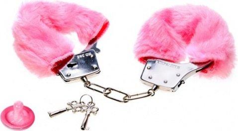 Наручники розовые плюшевые Luv-Bonds