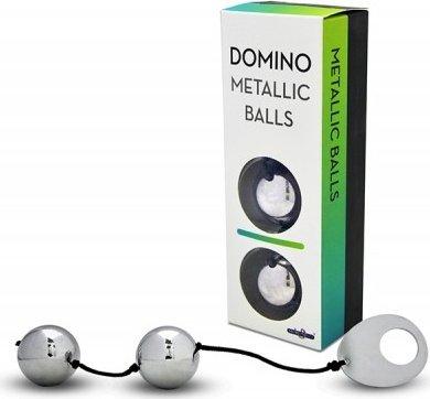 Вагинальные шарики металлические, хромированные серебристые, фото 2