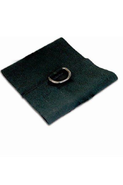 Манжеты на запястья (2 шт) черные s&m black elastabind cuffs