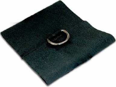 Манжеты на запястья (2 шт) черные s&m black elastabind cuffs, фото 2