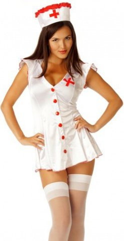Костюм Медсестра белый, фото 4