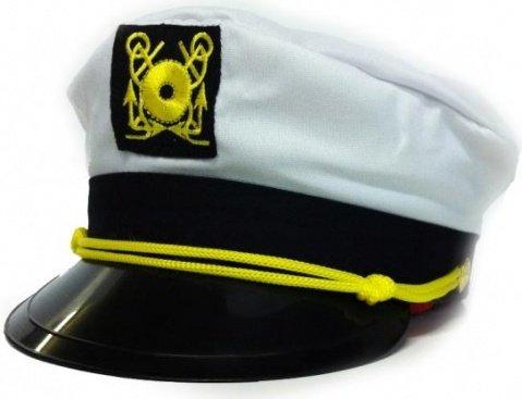 Фуражка моряка белая, фото 2