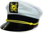 Купить головные уборы. Фуражка моряка белая 02429. Онлайн сексшоп.