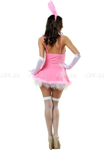 Розовый костюм зайки (Le Frivole), размер S/M, фото 2