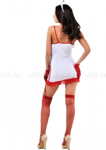 Эротический костюм медсестры S/M, фото 2