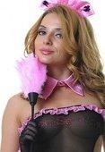 Щеточка горничной розовая 35 см - Секс-шоп Мир Оргазма