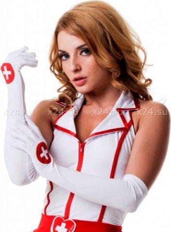 Перчатки медсестры (One Size)