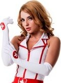 Перчатки медсестры - Секс-шоп Мир Оргазма