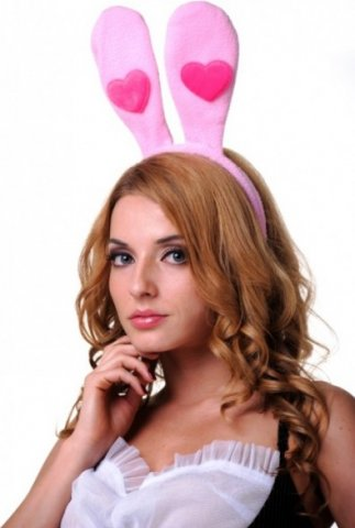 Уши зайчика с сердечком ( )