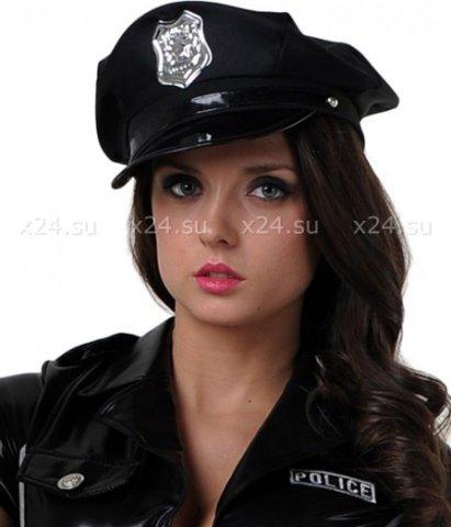 Фуражка полицейского винил, фото 2