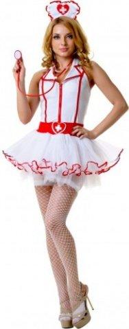 Костюм медсестры с пышной юбкой, фото 3