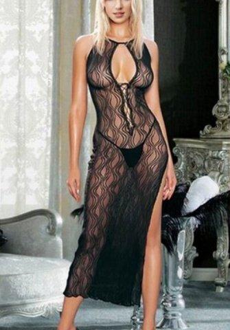 Платье с волнистым рисунком (S-L) 03586SL