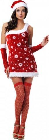 Новогодний костюм снегурочки, разм