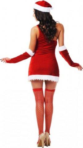 Новогодний костюм снегурочки, разм, фото 2