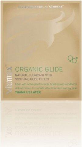 Натуральный лубрикант Organic glide, 2 мл