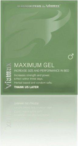 Мужской лубрикант для возбуждения Maximum gel, 2 мл. (пробник)