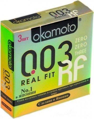 Презервативы okamoto real fit супер тонкие облегающей формы - 1 блок (24 уп), фото 10