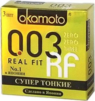 Презервативы okamoto real fit супер тонкие облегающей формы - 1 блок (24 уп), фото 14