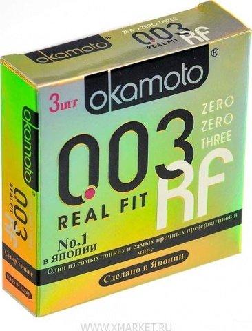 Презервативы okamoto real fit супер тонкие облегающей формы - 1 блок (24 уп), фото 4