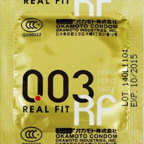 Презервативы okamoto real fit супер тонкие облегающей формы - 1 блок (24 уп), фото 5