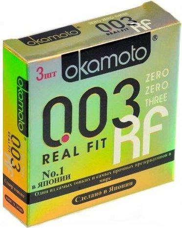 Презервативы okamoto real fit супер тонкие облегающей формы - 1 блок (24 уп), фото 7