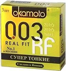 Презервативы okamoto real fit супер тонкие облегающей формы - 1 блок (24 уп), фото 8