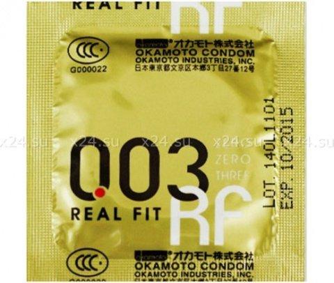 Презервативы Окамото 003 Real Fit Супер тонкие особой облегающей формы 10/12, фото 3