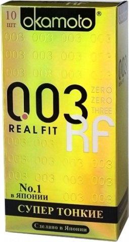 Презервативы Окамото 003 Real Fit Супер тонкие особой облегающей формы 10/12, фото 4