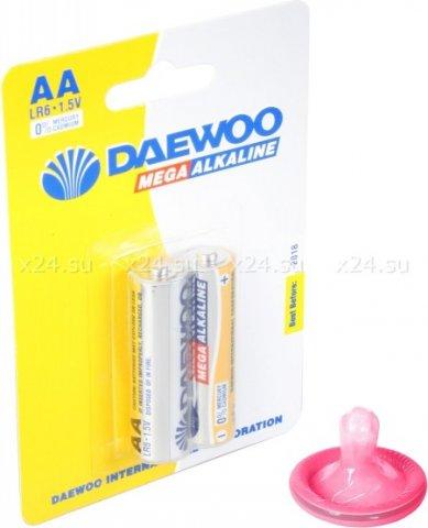 Комплект из 2 алкалиновых батареек (AA)