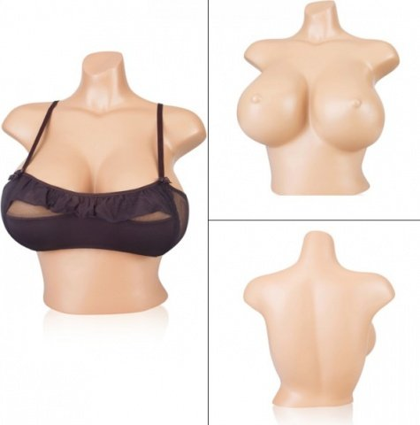 Манекен девушка, бьюст, размер груди D