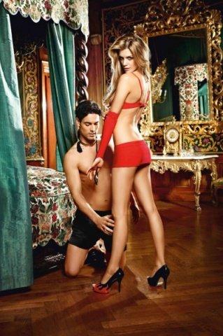Игровой костюм госпожа лота: бюсгтгалтер, нижняя юбка, митенки, фото 2